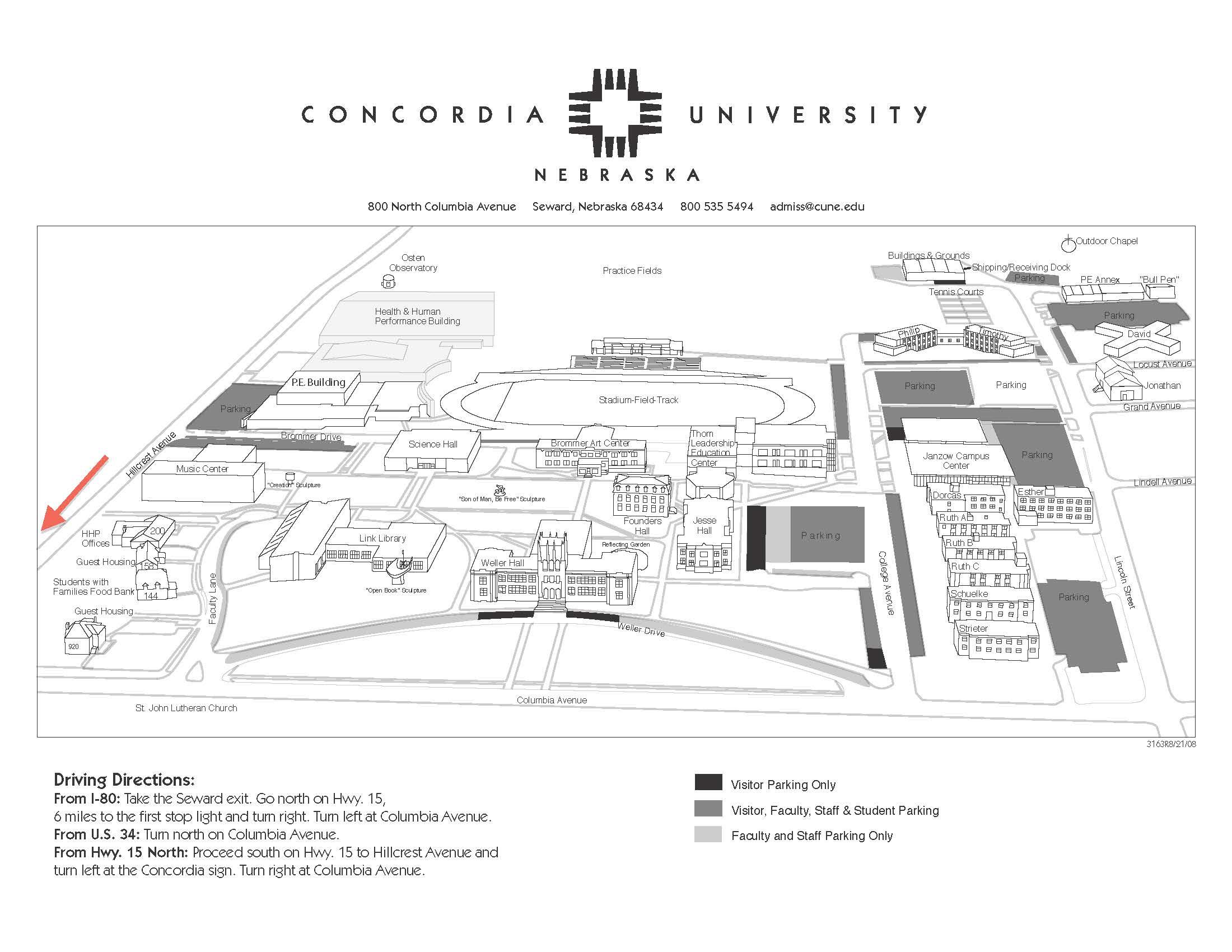 concordia campus map – bnhspine