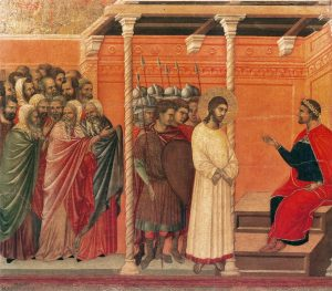 Duccio-Christ-before-Pilate